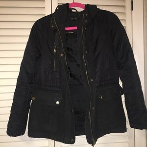 Topshop black light fall zipup jacket